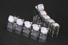 Náušnice 0426 rose opal