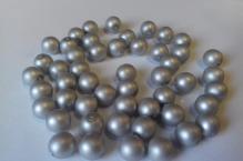 stříbrná mat 8mm
