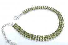 Náramek 0528 olivine