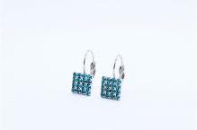 Naušnice capri blue 0555